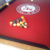 Brunswick U of A Standard Pool Table