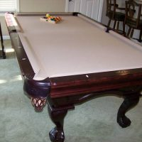Pool Table With Ping Pong Table Top For Sale