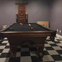 American Heritage Slate Top Pool 8ft Pool Table