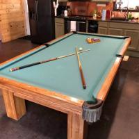 9ft Gandy Pool Table
