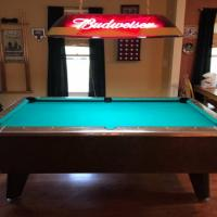 Valley Pool Table and Light