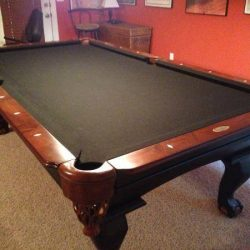 Pool Table Black Felt