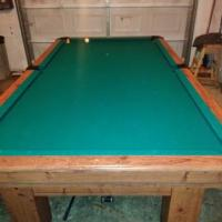 Newly Restored Pool Table
