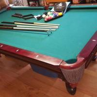 Liberty Pool Table and Accessories