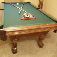 7' Slate Pool Table(SOLD)