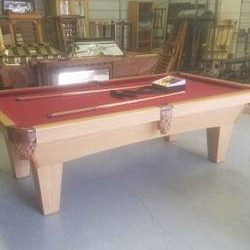 8 Ft Slate Pool Table