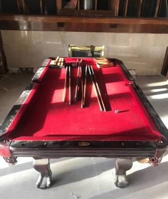 Pool Table-Triple 7 Billiards Co.(SOLD)